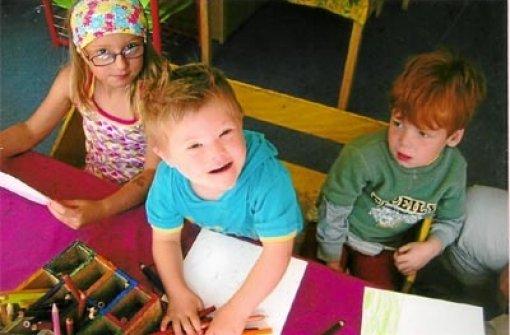 Schramberg vierjähriger mit down syndrom bei anderen