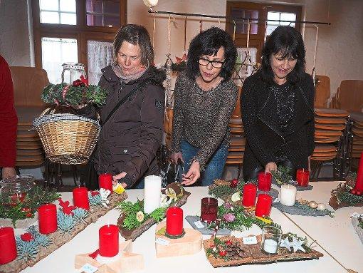 b singen weihnachtsbasar in b singen sehr gut besucht. Black Bedroom Furniture Sets. Home Design Ideas