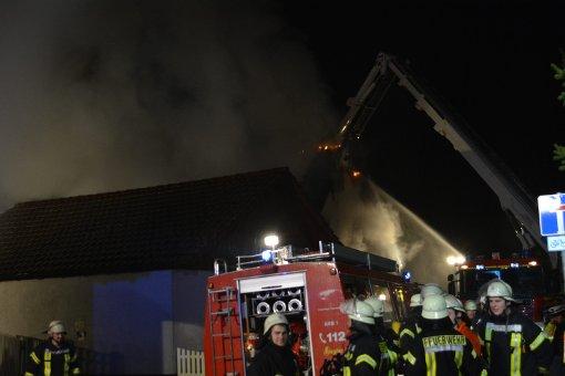 Willstätt: Wohnhaus in Brand: Familie evakuiert - Schwarzwälder Bote