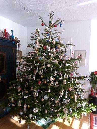 Rottweil ein christbaum wie schon vor 100 jahren - Weihnachtsbaum dekorieren ...