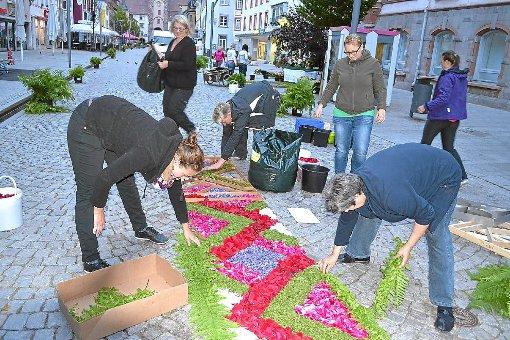 VillingenSchwenningen Ein Teppich aus unzähligen Blüten