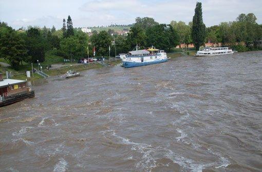 Neckarbrücke, Neckarfront, Neckarboote: Tübingen, ganz klar.