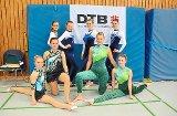 DJK- und TVT-Gymnastinnen stark