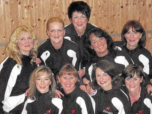 """Eine starke Vorstellung boten die """"Traumtänzerinnen"""" des TSV Ebingen beim Dance Cup in Immendingen.  Foto: Vichra Foto: Schwarzwälder-Bote"""