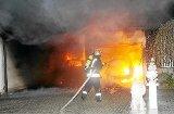 Garage auf dem Lindenhof brennt völlig aus