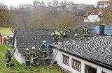 Brand zerstört Schützenhaus in Bietenhausen