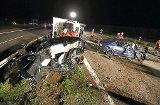 Vier Schwerverletzte bei Unfall auf B 27 nahe Steinhofen