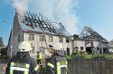 Hüfingen: Brand von Hof: Ursache ist weiterhin unklar