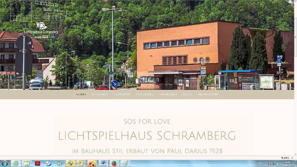 schramberg lichtspielhaus denkmal aus hollywood. Black Bedroom Furniture Sets. Home Design Ideas