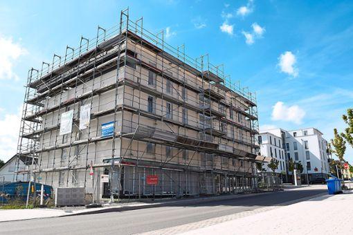 Seit April ruhen die Arbeiten am Gebäude in der Hauptstraße 13 in Zimmern.  Foto: Zelenjuk