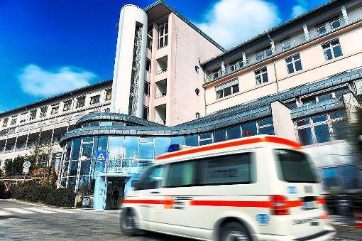 Die Gesamtverluste der Krankenhäuser Calw (Foto) und Nagold fallen dieses Jahr sieben Millionen Euro höher aus. Foto: Fritsch