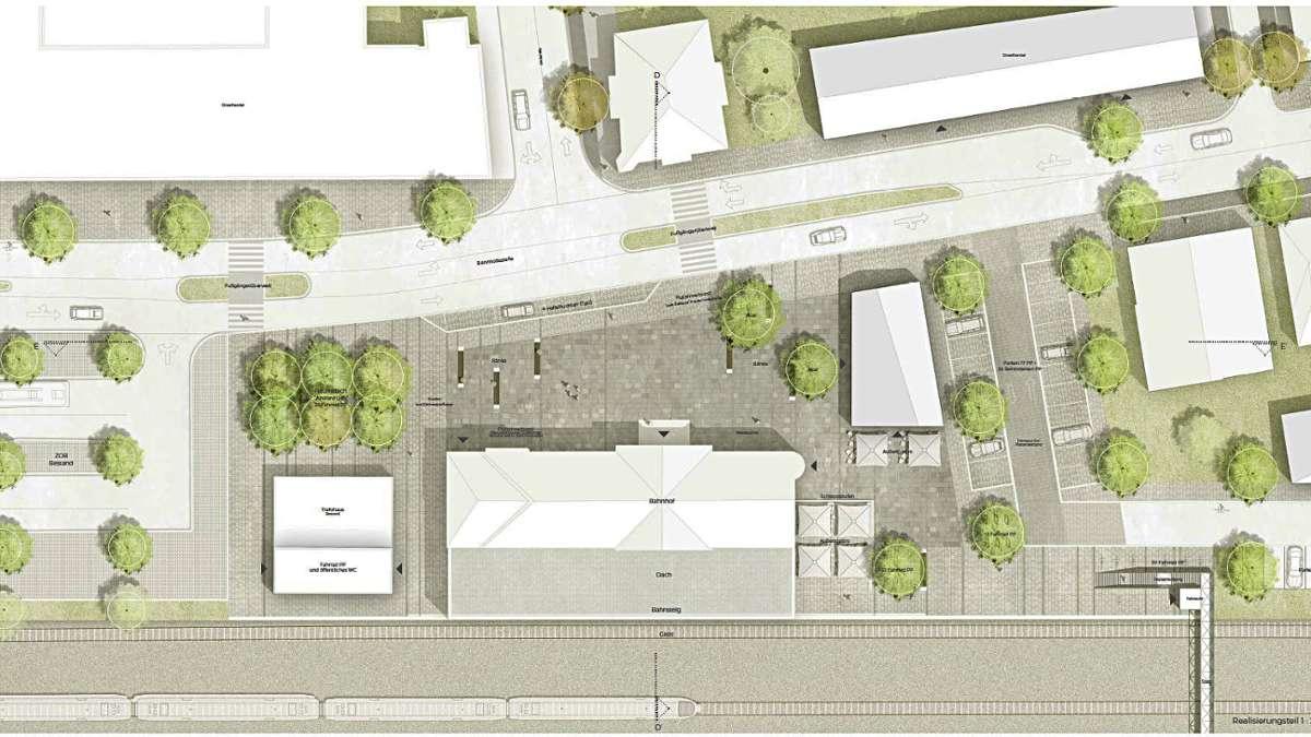 Balingen - Gremium befürwortet Planungen für Bahnhofsvorplatz