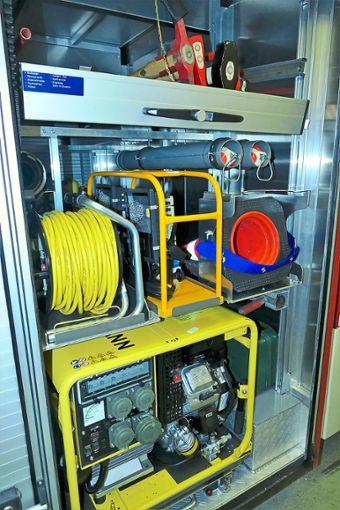 Das Notstromaggregat ist eine der Neuerungen, welches das Spektrum der Proben und Einsatzmöglichkeiten deutlich erhöht. Foto: Schwarzwälder Bote
