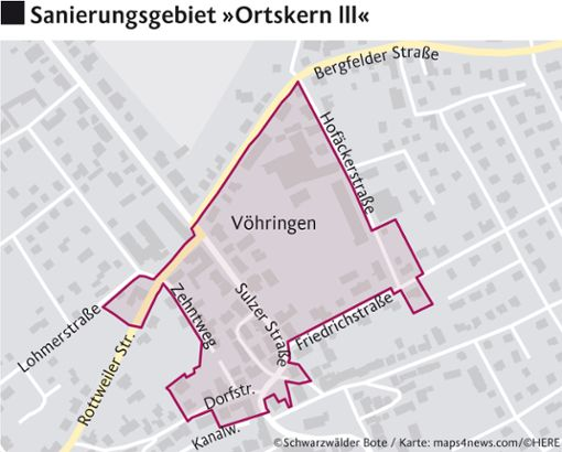 Foto: © Schwarzwälder Bote/Karte: maps4news.com/©HERE