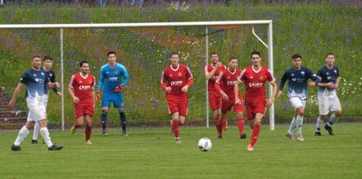Top im Spitzenspiel der Landesliga: der FC Holzhausen. Foto: Heidepriem