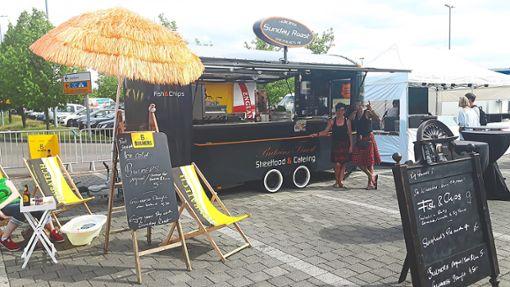 Etwa 20  Foodtrucks werden zwischen Ledereck und Marktstraße ihr Essen verkaufen.   Foto: Veranstalter