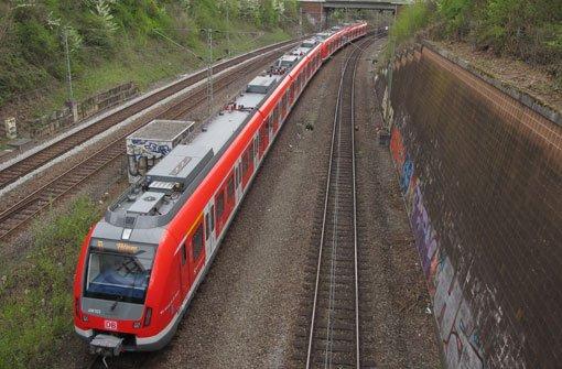 Im S-Bahn-Verkehr zwischen Marbach und Backnang kommt es am Montag zu Ausfällen und Verspätungen. (Symbolfoto) Foto: VVS