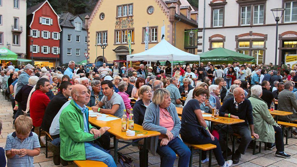 Hornberg: Vom Stadtfest bis zur Halle - Schwarzwälder Bote - Schwarzwälder Bote