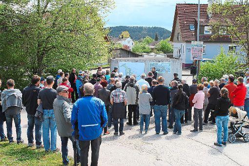 Stadtbaumeister Michael Lübke geht auf den Bebauungsplan Gehrn Süd ein.  Foto: Holzer-Rohrer Foto: Schwarzwälder-Bote