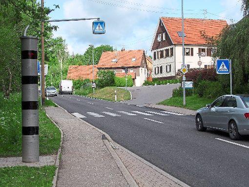 Bislang wurden in Oberreichenbach 887 Autos geblitzt.   Foto: Bösel Foto: Schwarzwälder-Bote