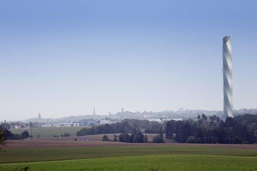 Ein Jahr alt wird die Aussichtsplattform am Rottweiler Test-Turm. Foto: Otto