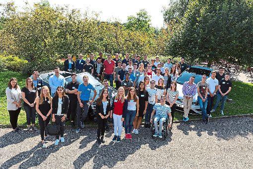 Am 1. August wurden 53 kaufmännische Auszubildende in der AHG-Gruppe begrüßt.   Fotos: AHG Foto: Schwarzwälder-Bote
