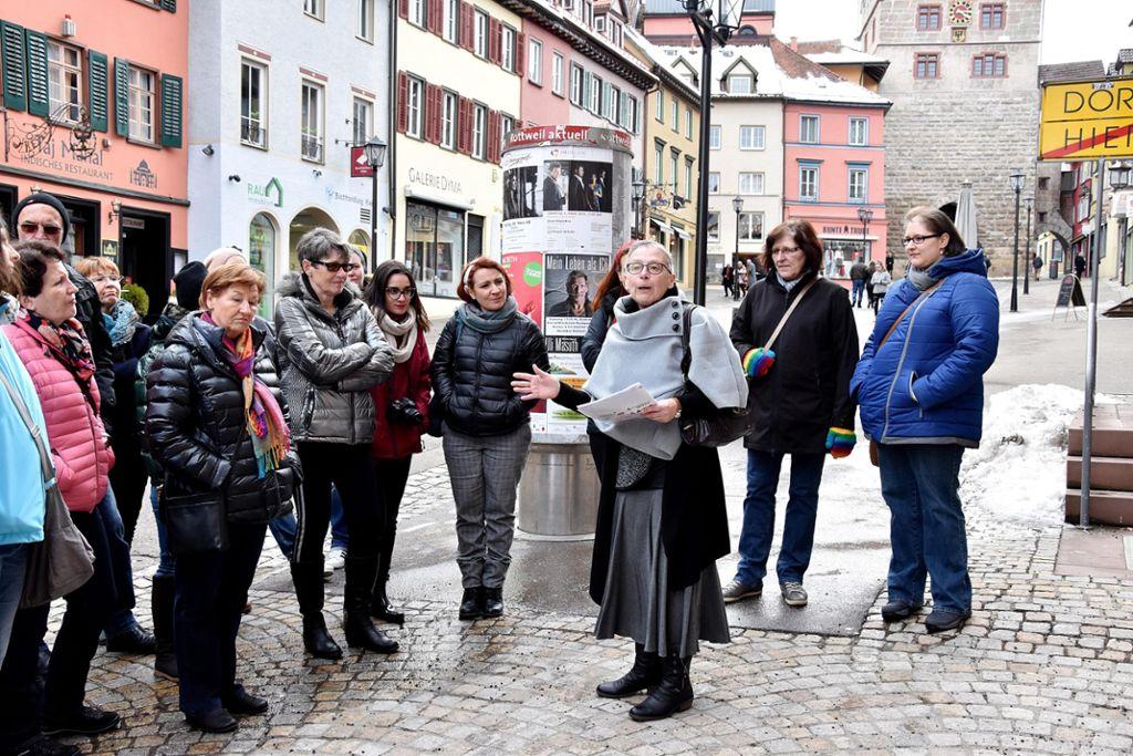 Im Rahmen der Rottweiler Frauenwochen bietet Cornelia Votteler eine ...