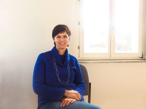 Die Autorin Bettina Eikemeier spricht über ihr Buch Zu den Römern und zurück.  Foto: Merk Foto: Schwarzwälder Bote