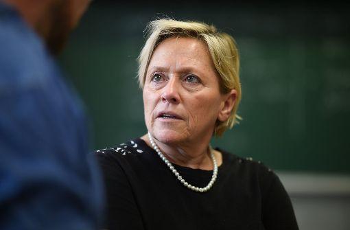 Susanne Eisenmann kommt am 26. April nach Horb. Foto: dpa