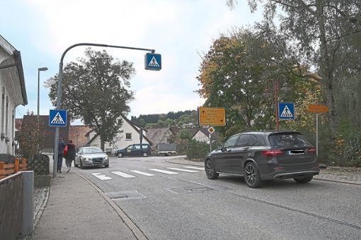 An der Einmündung der Oberjettinger Straße in die Forststraße ist das Verkehrsaufkommen aus Sicht des Landratsamtes nicht hoch genug, um eine Tempo-30-Zone zu rechtfertigen.  Archiv-Foto: Buchner Foto: Schwarzwälder Bote