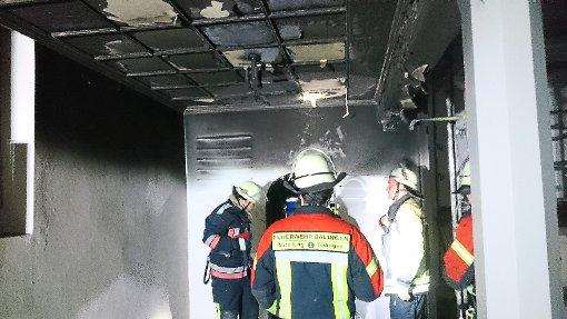 Die Schäden nach dem Feuer in der Heselwanger Kirche sind so groß, dass das Gotteshaus wohl erst an Weihnachten wieder geöffnet werden kann. Foto: Ungureanu