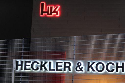 Vier ehemalige Mitarbeiter von Heckler & Koch müssen sich vor Gericht verantworten. Foto: dpa