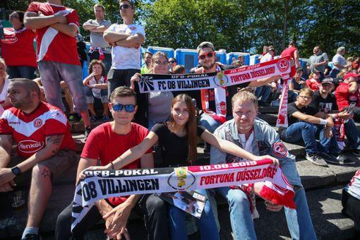 Mit ihrer couragierten Leistung haben die Nullachter Fußball-Fans in ganz Deutschland begeistert. Foto: Eich