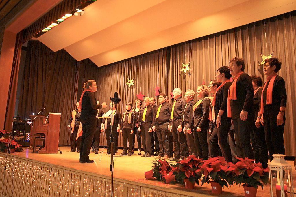 Weihnachtskekse Swing.St Georgen Chöre Gestalten Weihnachtlichen Abend St Georgen