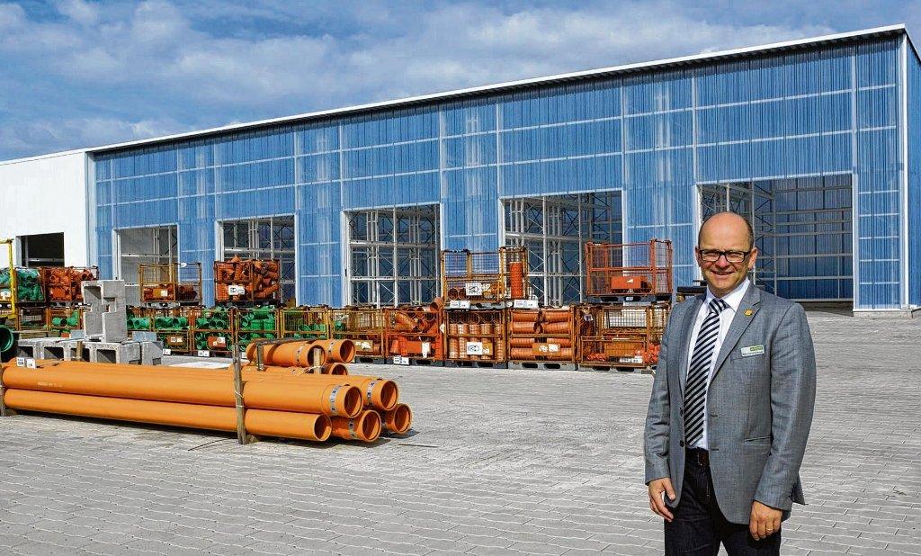 Kemmler Donaueschingen donaueschingen baustoff kemmler stellt neue lagerhalle fertig