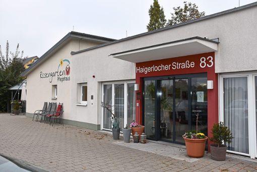 Das Pflegehaus Rosengarten in Empfingen gibt es jetzt seit zehn Jahren. Foto: Schwarzwälder Bote