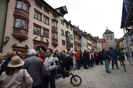 Klares Ja beim Bürgerentscheid zur Hängebrücke in strongRottweil/strong. Damit bekommt die Stadt nach dem Test-Turm erneut ein Projekt der Superlative. a href=http://www.schwarzwaelder-bote.de/inhalt.rottweil-buergerentscheid-buerger-sagen-ja-zur-haengebruecke.a2450123-3844-4be1-ad3b-bc370614d108.htmltarget=_blankstrongZur Bildergalerie mit Video/strong/abr Foto: Nädele