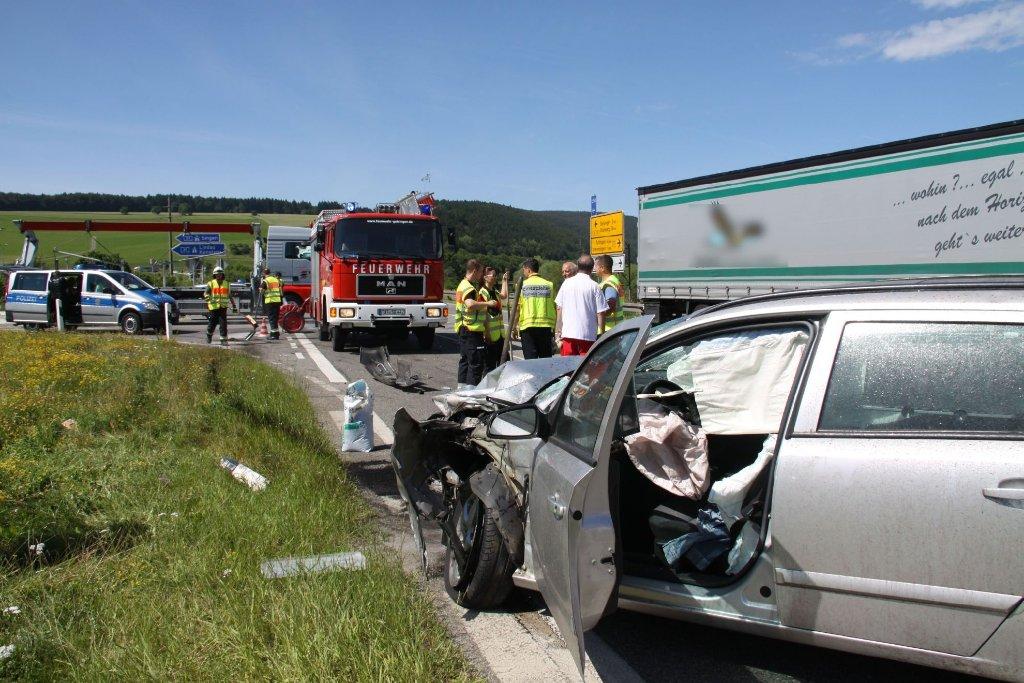 Unfall A81 Geisingen