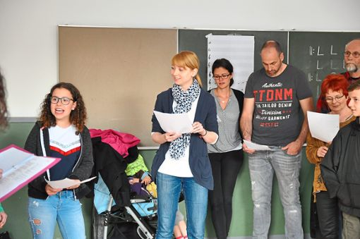Sandra Stebner ist die musikalische Leiterin beim Märchenstück Heidi. Foto: Schwarzwälder Bote
