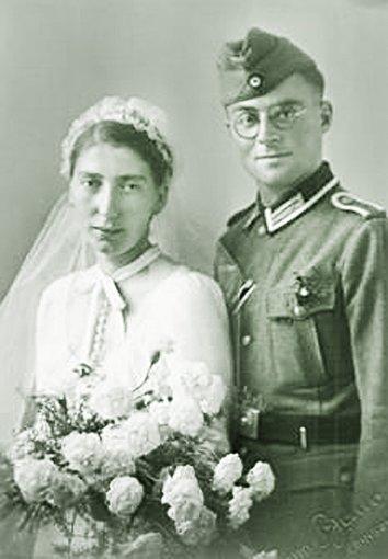 Mit Hanna war Martin Jehle seit 1942 verheiratet. Foto: Schwarzwälder-Bote