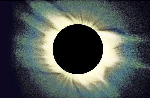 Aufnahme einer totalen Sonnenfinsternis. Die nächste totale Verdunkelung der Sonne in Deutschland  wird erst wieder am 3. September 2081 zu sehen sein. Foto: Martin Gertz/Sternwarte Welzheim