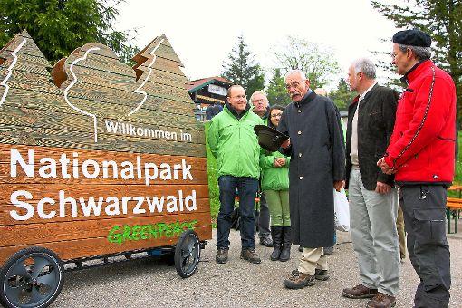 Drei Jahre alt ist der Nationalpark mittlerweile. In Baiersbronn zogen Wissenschaftler Zwischenbilanz.  Foto: Rothfuß