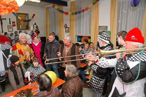 Die Schnorchel-Huaschter wollen auch in diesem Jahr bei der Rathausbefreiung und der anschließenden Feier für exzellente Stimmungsmusik sorgen.   Foto: Ullrich Foto: Schwarzwälder Bote