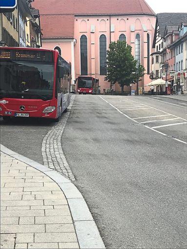Die Stadt will über die künftigen Busstandarts mitentscheiden.  Foto: Merk Foto: Schwarzwälder Bote