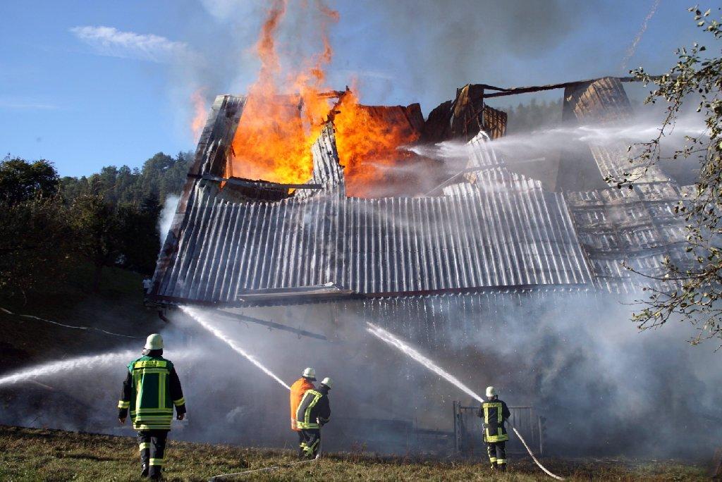 Feuer Schmalfeld
