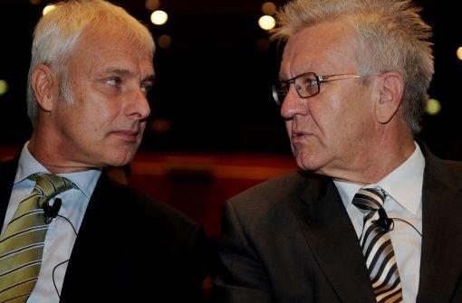Kretschmann Zitate Der Regierungschef Und Das Auto Wirtschaft Schwarzwalder Bote
