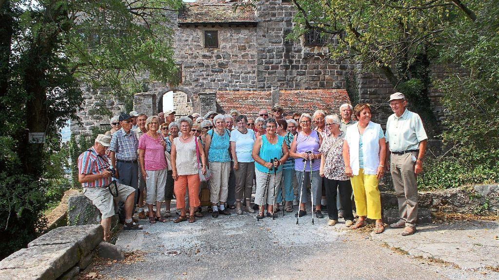 Raumausstatter Heilbronn balingen senioren des ostdorfer albvereins verbringen ausflugstag im landkreis heilbronn