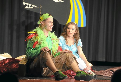 Frieder Pfeiffer als Papageno und Sonja Tomaz Matias als Papagena überzeugten – wie auch alle anderen Akteure. Foto: Fritsch Foto: Schwarzwälder-Bote