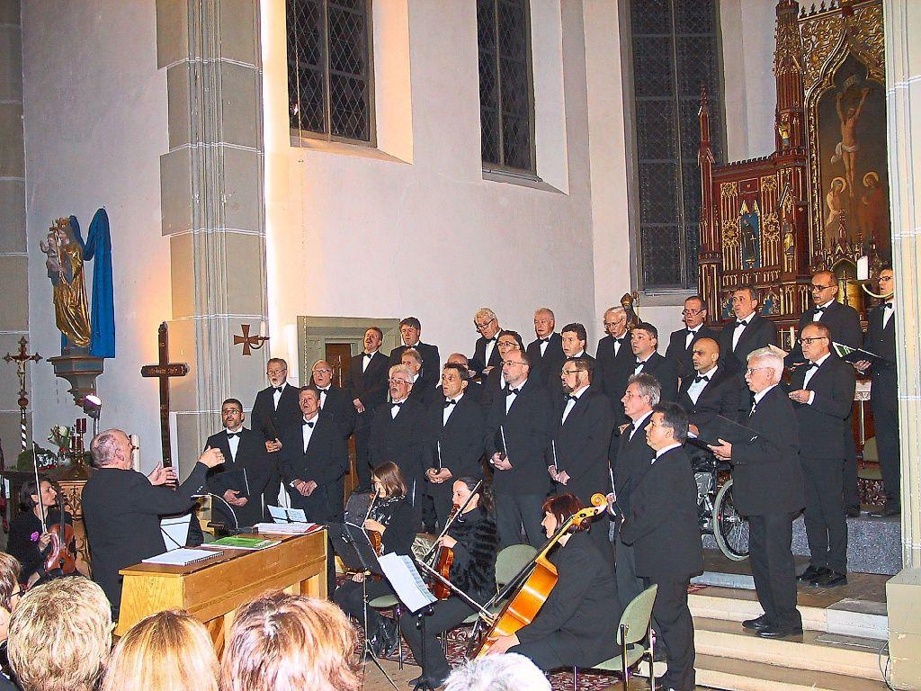 Rosenfeld: Stimmen füllen den Raum der Kirche - Rosenfeld ...