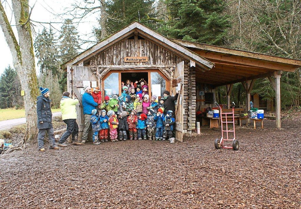 Bad Liebenzell: Waldkindergarten bekommt neue Hütte - Bad